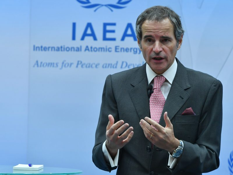 MAEA, Rafael Grossi, Międzynarodowa Agencja Energii Atomowej
