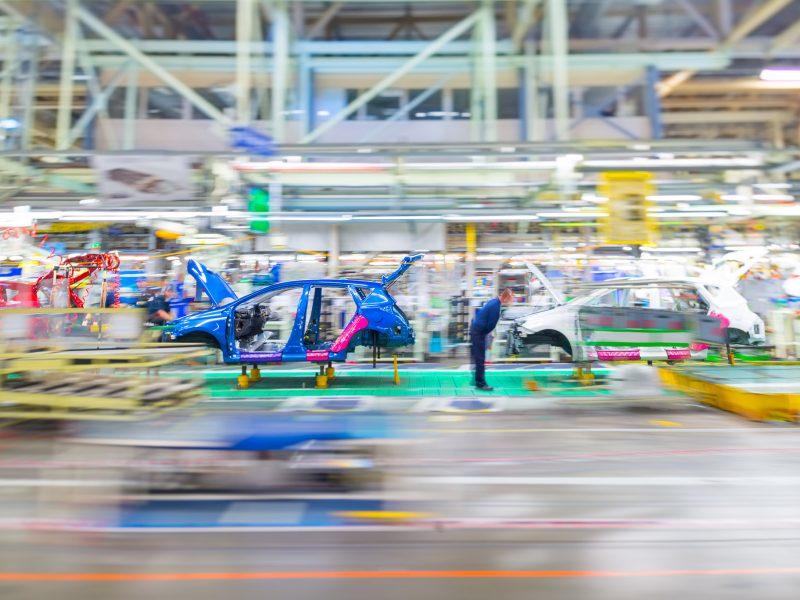 Fabryka Toyoty w Burnaston w Wielkiej Brytanii, źródło: Flickr/Toyota UK (CC BY-NC-ND 2.0)