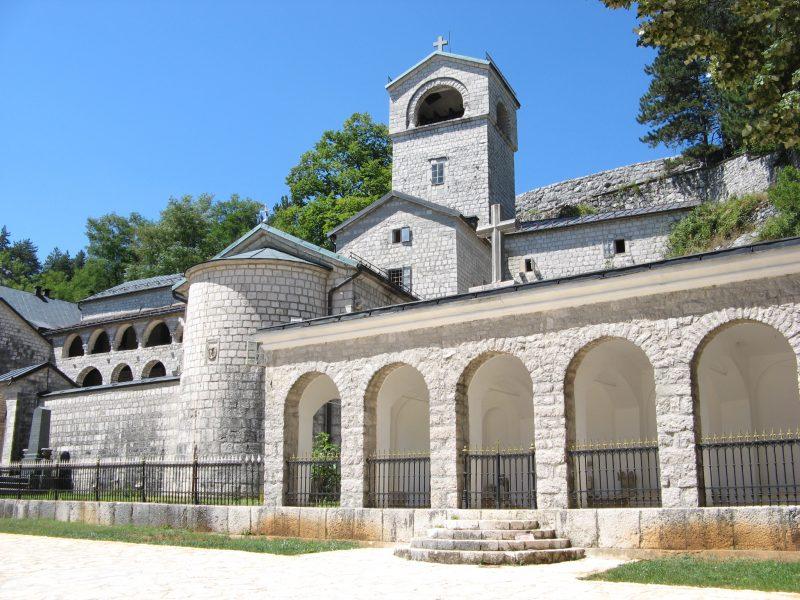 Cetynia, monaster, Czarnogóra