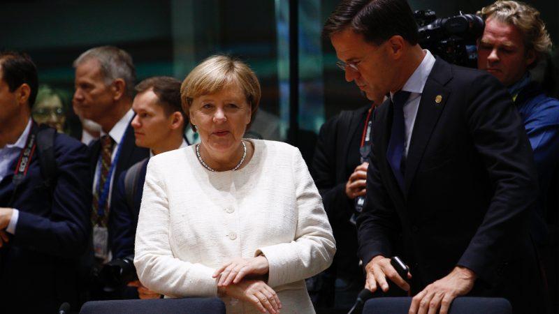 Niemcy, Holandia, Angela Merkel, Mark Rutte