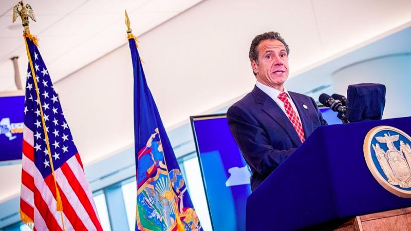 Gubernator Nowego Jorku Andrew Cuomo, źródło: Flickr/Delta News Hub (CC BY 2.0)