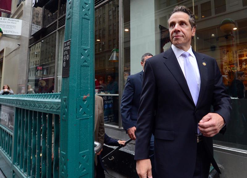 Gubernator Nowego Jorku Andrew Cuomo podał siędo dymisji, źródło: Flickr, fot. Marc A. Hermann/MTA New York City Transit (CC BY 2.0)