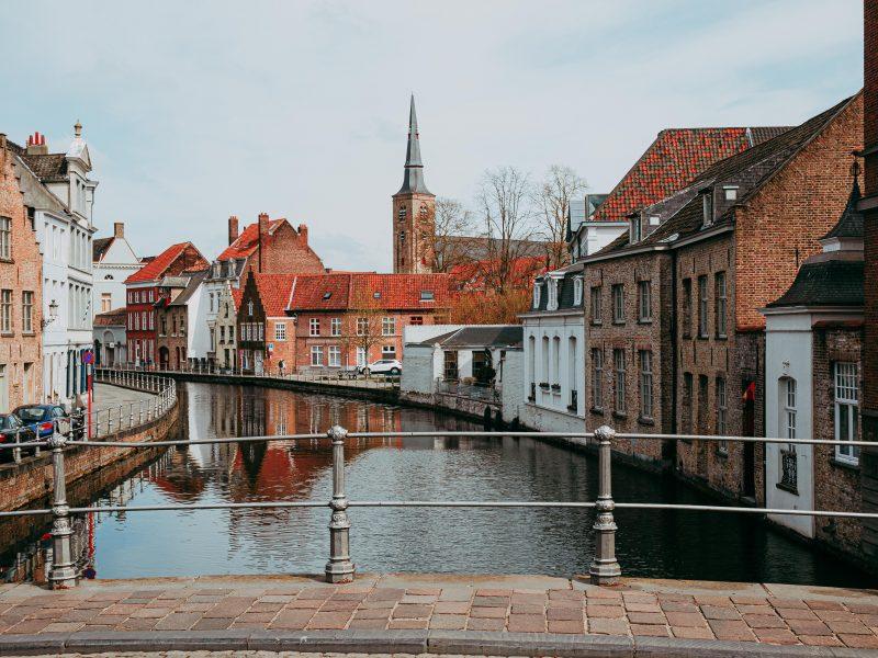 Brugia, Belgia, turyści, pandemia