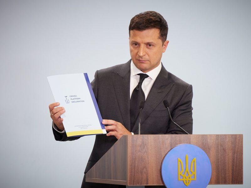 Ukraina, Wołodymyr Zełenski, Platforma Krymska