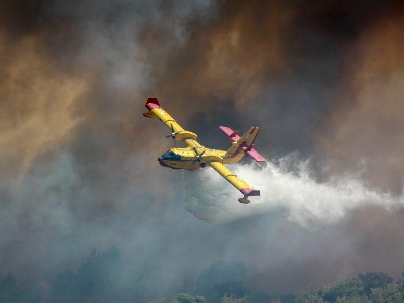 W Grecji nowe pożary wybuchająm.in. w okolicach Aten (Photo by Filippos Sdralias on Unsplash)