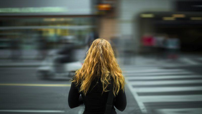 kobieta, ulica