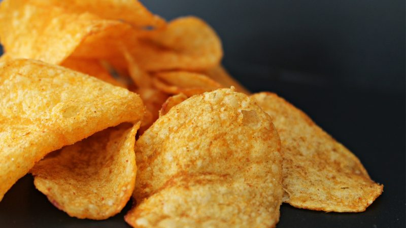 chipsy, niezdrowa żywność