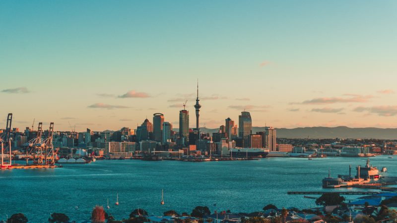 Pierwszy od ponad pół roku przypadek zakażenia koronawirusem w Nowej Zelandii odnotowano w największym mieście kraju - Auckland (Photo by Sulthan Auliya on Unsplash)
