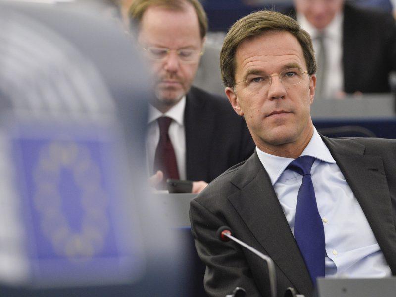 Mark Rutte, Holandia