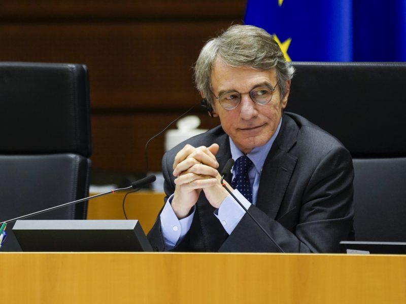 David Sassoli, Parlament Europejski, PE, Unia Europejska