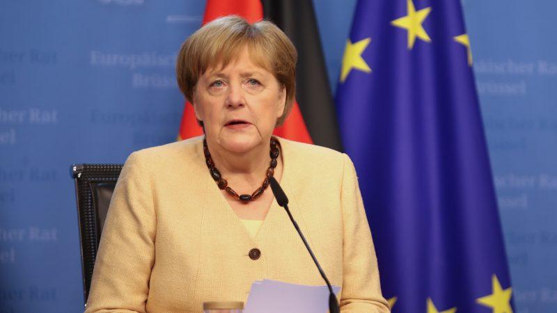 Angela Merkel, Niemcy