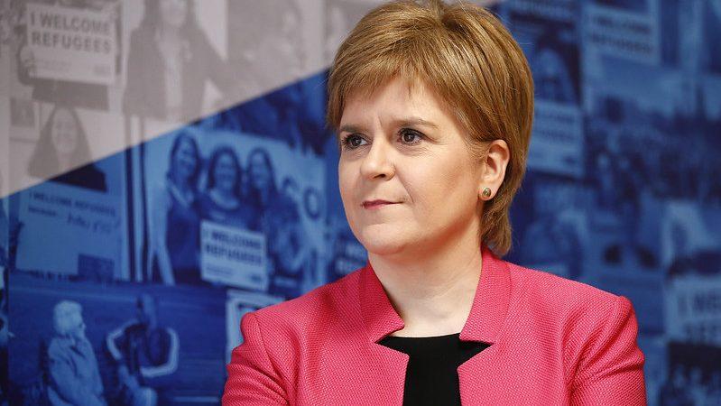 szkocja, wielka brytania, UK, referendum, niepodległość, sturgeom, Johnson