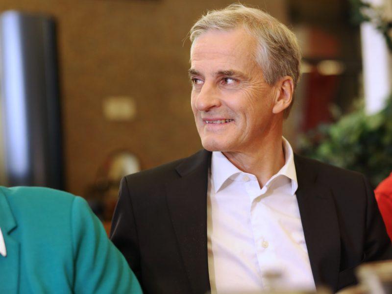 Jonas Gahr Støre, Partia Pracy, Norwegia