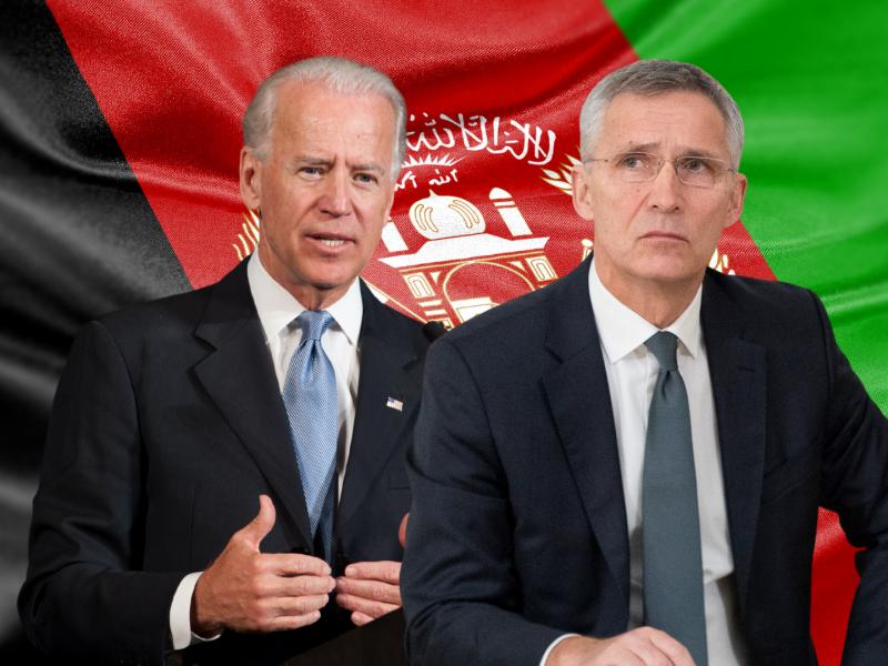 Afganistan, Joe Biden, Jens Stoltenberg, USA, NATO