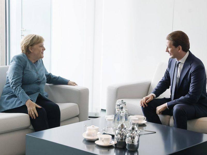 Niemcy, Austria, Afganistan, Kurz, Merkel