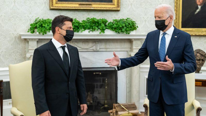 Ukraina, USA, Wołodymyr Zełenski, Joe Biden