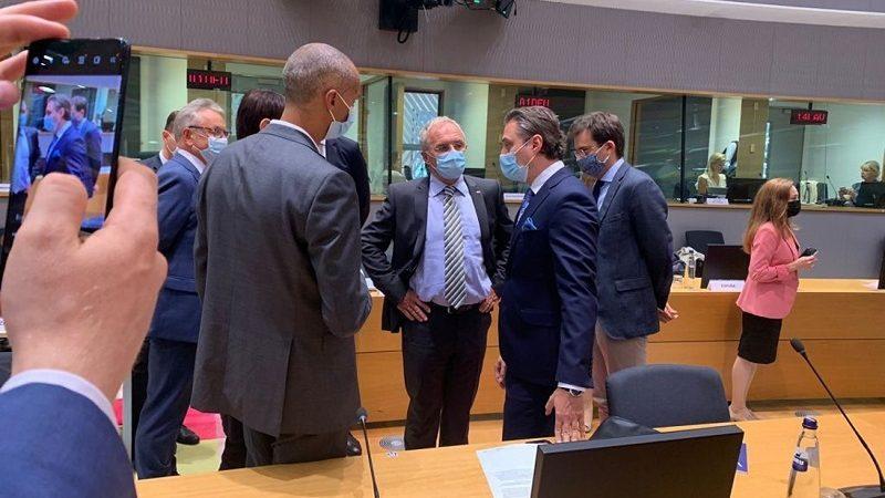 Nadzwyczajne posiedzenie Rady UE ws. Afganistanu i migracji, źródło mswia