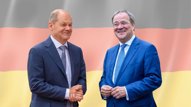 Niemcy, Merkel, Laschet, Scholz, bundestag, koalicja, Zieloni, wybory, FDP, GroKo, semafor