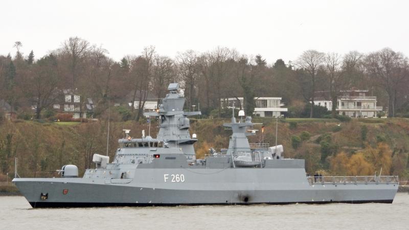 Prototyp fregaty typu Belharra, fot. Torsten Baetge (CC BY-SA 2.5)