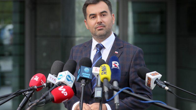 Rzecznik prezydenta Andrzeja Dudy, minister Błażej Spychalski, źródło Marek Borawski KPRP