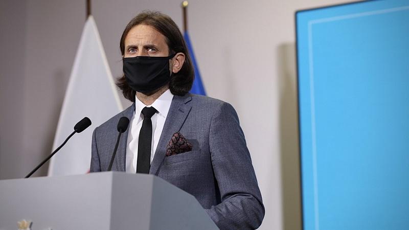 Wiceminister zdrowia Piotr Bromer, źródło twitter ministerstwo zdrowia