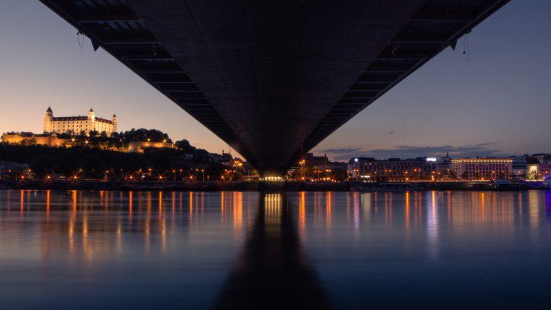 terminal LNG, Dunaj, Bratysława, Słowacja, Greenpeace
