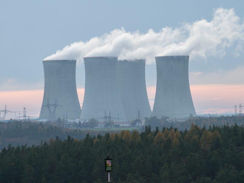 energetyka, energia jądrowa, Dukovany
