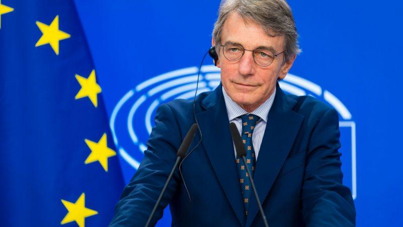 David Sassoli, PE, Parlament Europejski