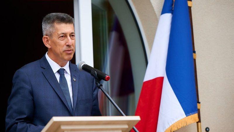 Ambasador Francji na Białorusi Nicolas de Lacoste, źródło: MSZ Francji