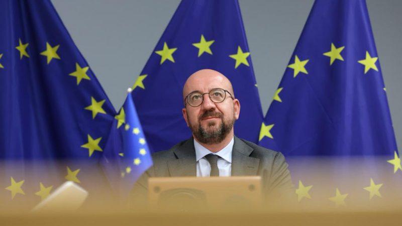 szczyt-ue-unia-europejska-rada-liderzy-przywodcy-panstw-bruksela-morawiecki-michel-von-der-leyen-sassoli-mechanizm-warunkowosci-praworzadnosc-prawo-tsue-pandemia-gaz-ceny-energii-rozmowy
