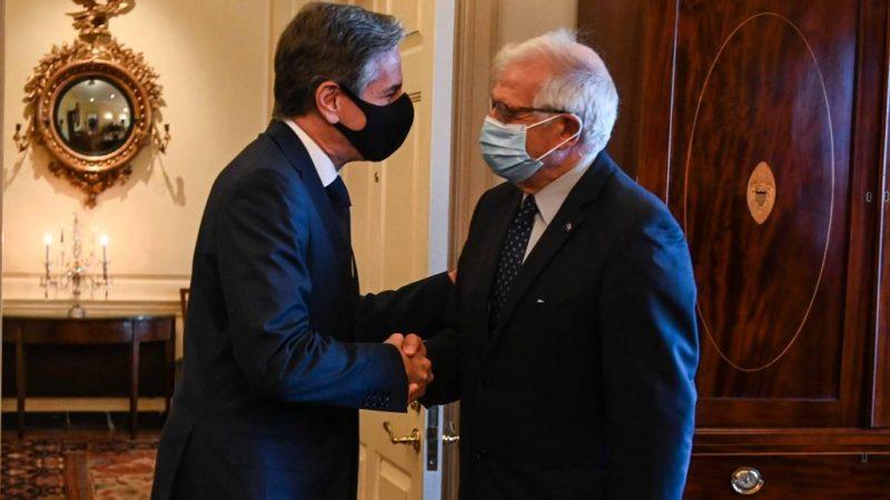 UE-USA-Blinken-Borrell-AUKUS-Francja-Australia-Chiny-Rosja-Afganistan
