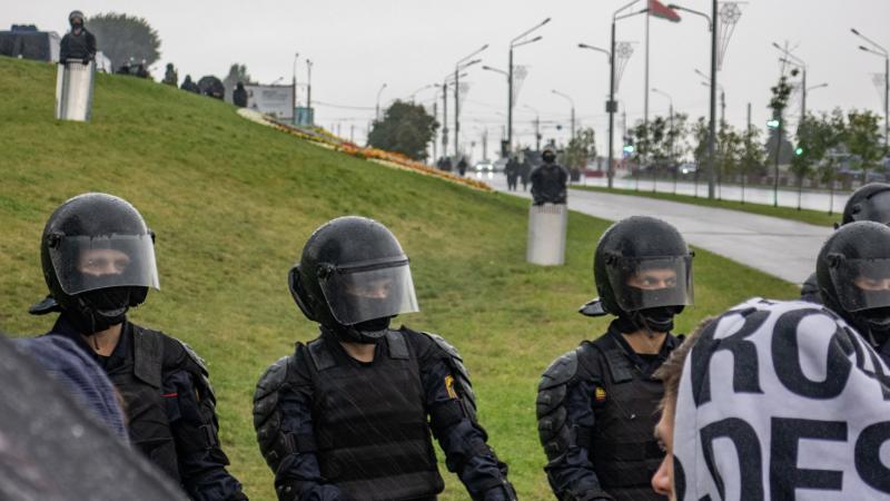 Obrońcy praw człowieka pomagająna Białorusi m.in. ofiarom milicyjnej brutalności, źródło: Wikipedia, fot. Homoatrox (CC BY-SA 3.0)