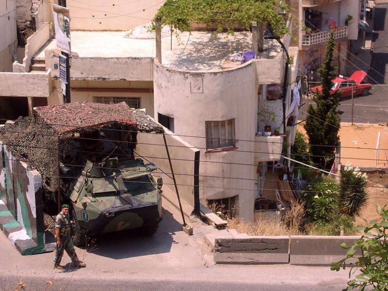 Wojsko na ulicach Bejrutu, źródło: Wikipedia, fot. FunkMonk (CC BY-SA 3.0)